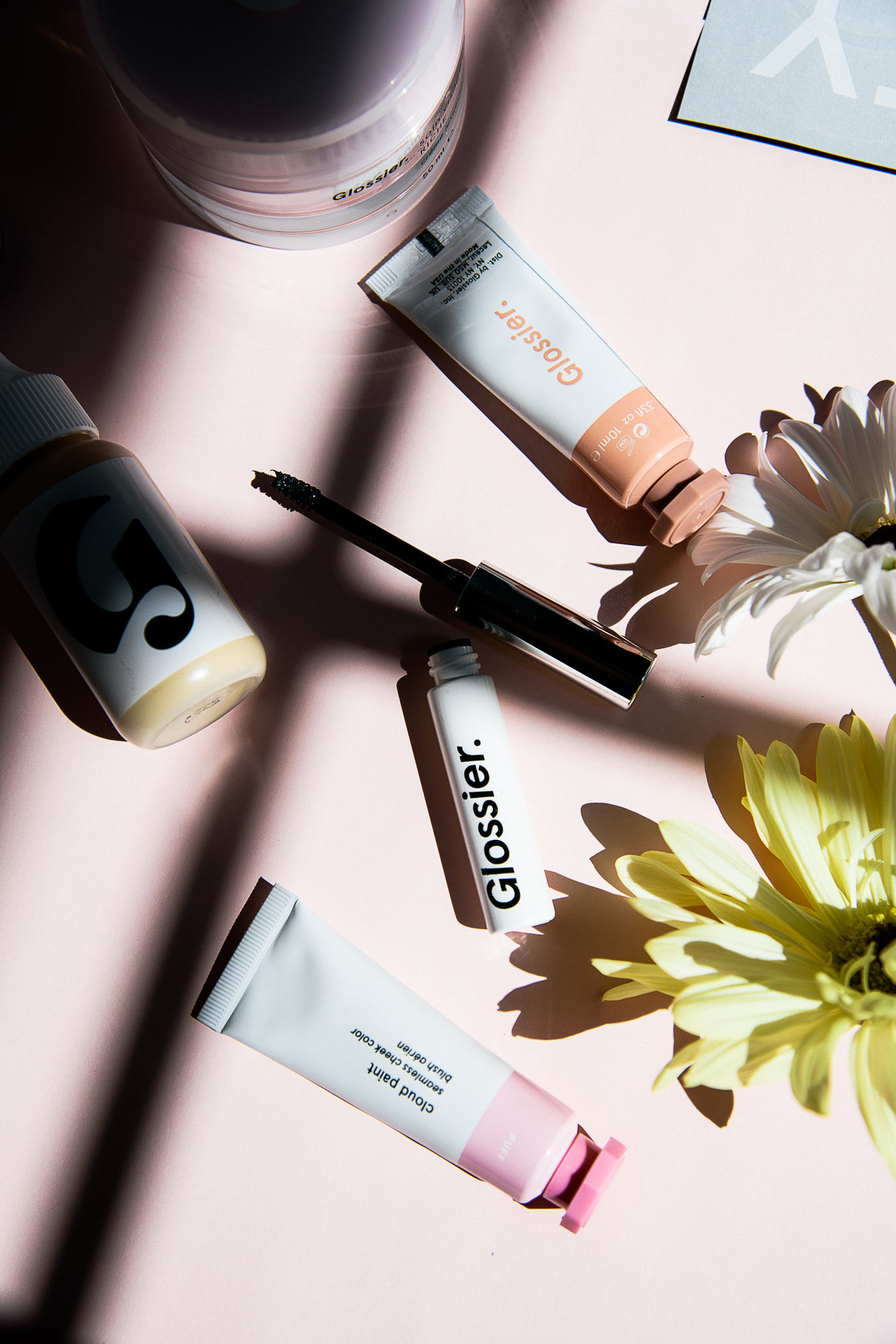 glossier grwm and review